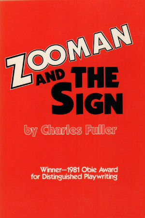 Book Cover Zooman And The Sign by Charles Fuller