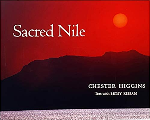 Book Cover Sacred Nile by Chester Higgins, Jr.