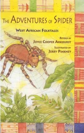 Book Cover The Adventures of Spider by Joyce Cooper Arkhurst