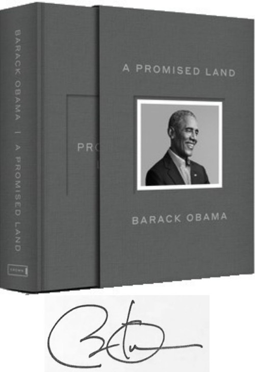 Click for more detail about A Promised Land: Deluxe Signed Edition by Barack Obama