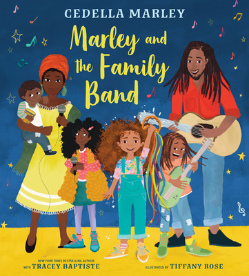 Book Cover Marley and the Family Band by Cedella Marley with Tracey Baptiste
