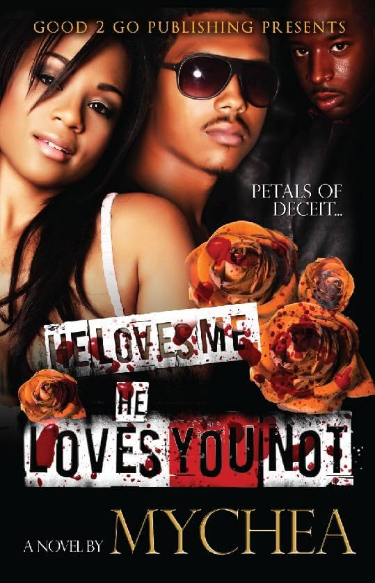 Book Cover He loves me, He loves you not by Mychea
