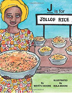 Click for a larger image of J is for Jollof Rice
