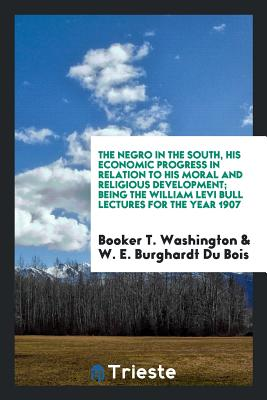 Book Cover The Negro in the South by Booker T. Washington