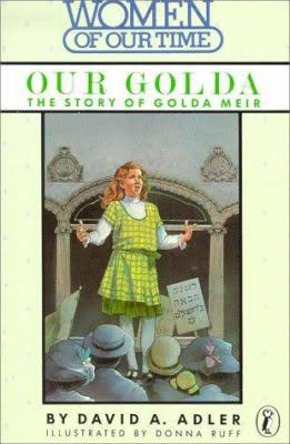 Book Cover Our Golda: The Story of Golda Meir (Women of Our Time) by David A. Adler