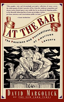 Book Cover At The Bar by David Margolick