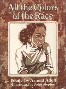 Book Cover All the Colors of the Race by Arnold Adoff