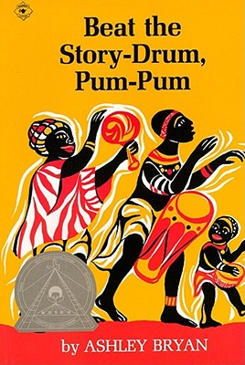 Click for a larger image of Beat the Story-Drum, Pum-Pum (Aladdin Books)