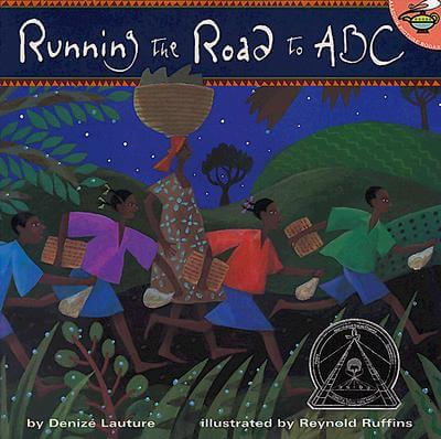 Click for more detail about Running The Road To ABC (Aladdin Picture Books) by Denize Lauture