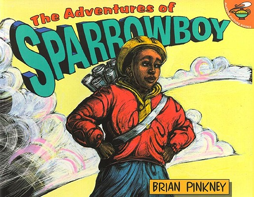 Click for more detail about The Adventures of Sparrowboy by Andrea Davis Pinkney