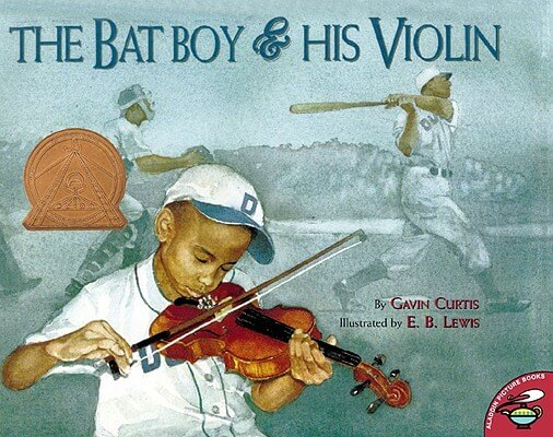 Book Cover The Bat Boy and His Violin by Gavin Curtis