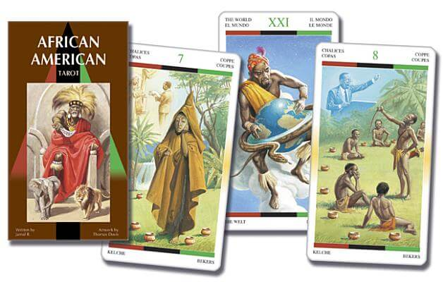 Click for more detail about African American Tarot (English and Spanish Edition) by Lo Scarabeo