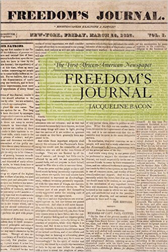 Click for a larger image of Freedom's Journal: The First African-American Newspaper
