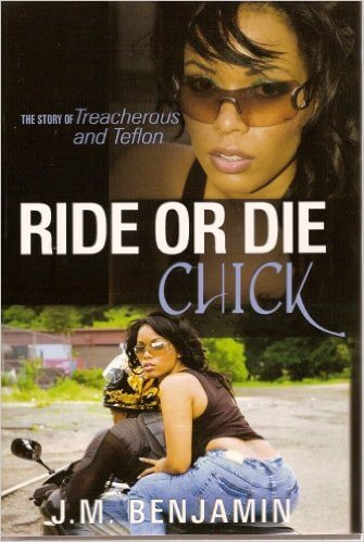 Book Cover Ride Or Die Chick by J.M. Benjamin