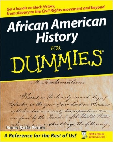 Click for a larger image of African American History For Dummies