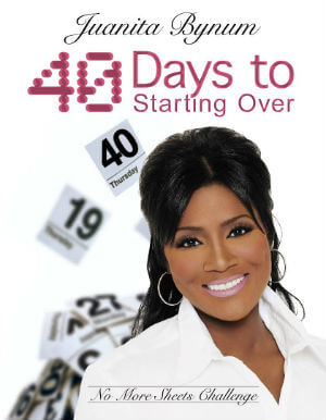 Click for more detail about 40 Days to Starting Over: No More Sheets Challenge by Juanita Bynum