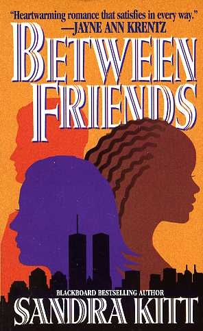 Book Cover Between Friends by Sandra Kitt