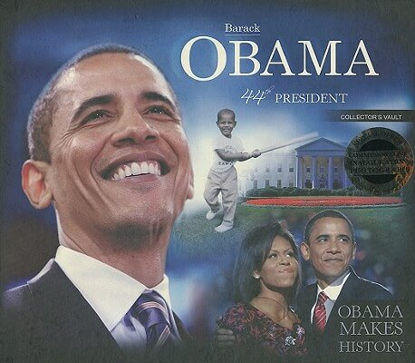 Click to buy a copy of Barack Obama Presidential Collector's Vault