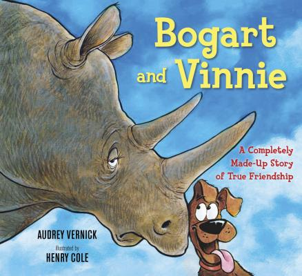 Click for more detail about Bogart and Vinnie: A Completely Made-up Story of True Friendship by Audrey Vernick