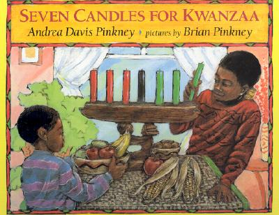 Book Cover Seven Candles for Kwanzaa by Andrea Davis Pinkney and Brian Pinkney