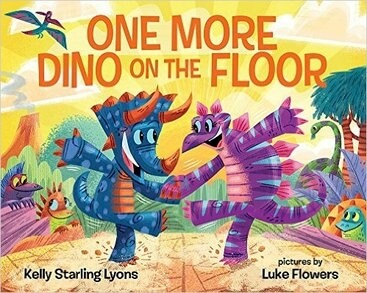 Click for more detail about One More Dino On the Floor by Kelly Starling Lyons