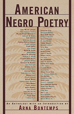 Click for more detail about American Negro Poetry: An Anthology (American Century) by Arna Bontemps