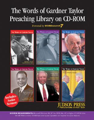 Click for more detail about The Words Of Gardner Taylor Preaching Library by Gardner C. Taylor