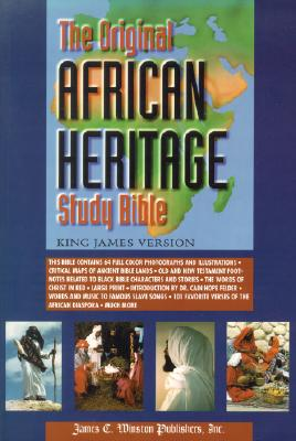 Click for more detail about Original African Heritage Study Bible-KJV-Large Print by Cain Hope Felder