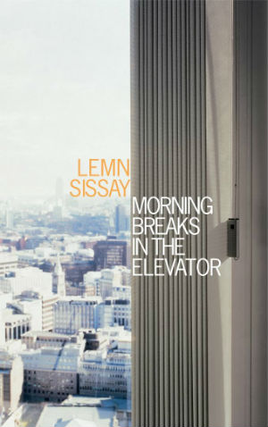 Book Cover Morning Breaks in the Elevator by Lemn Sissay