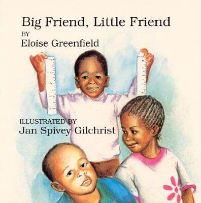 Book Cover Big Friend, Little Friend by Eloise Greenfield