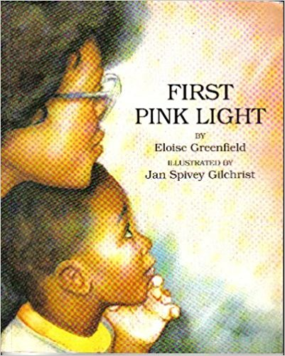 Book Cover First Pink Light by Eloise Greenfield