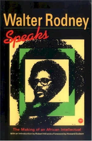 Book Cover Walter Rodney Speaks: The Making Of An African Intellectual by Walter Rodney