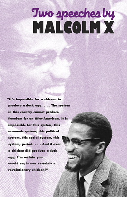 Book Cover Two Speeches by Malcolm X by Malcolm X