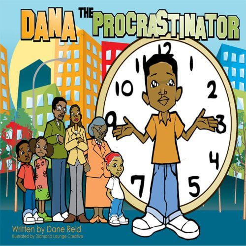 Book Cover Dana The Procrastinator by Dane Reid