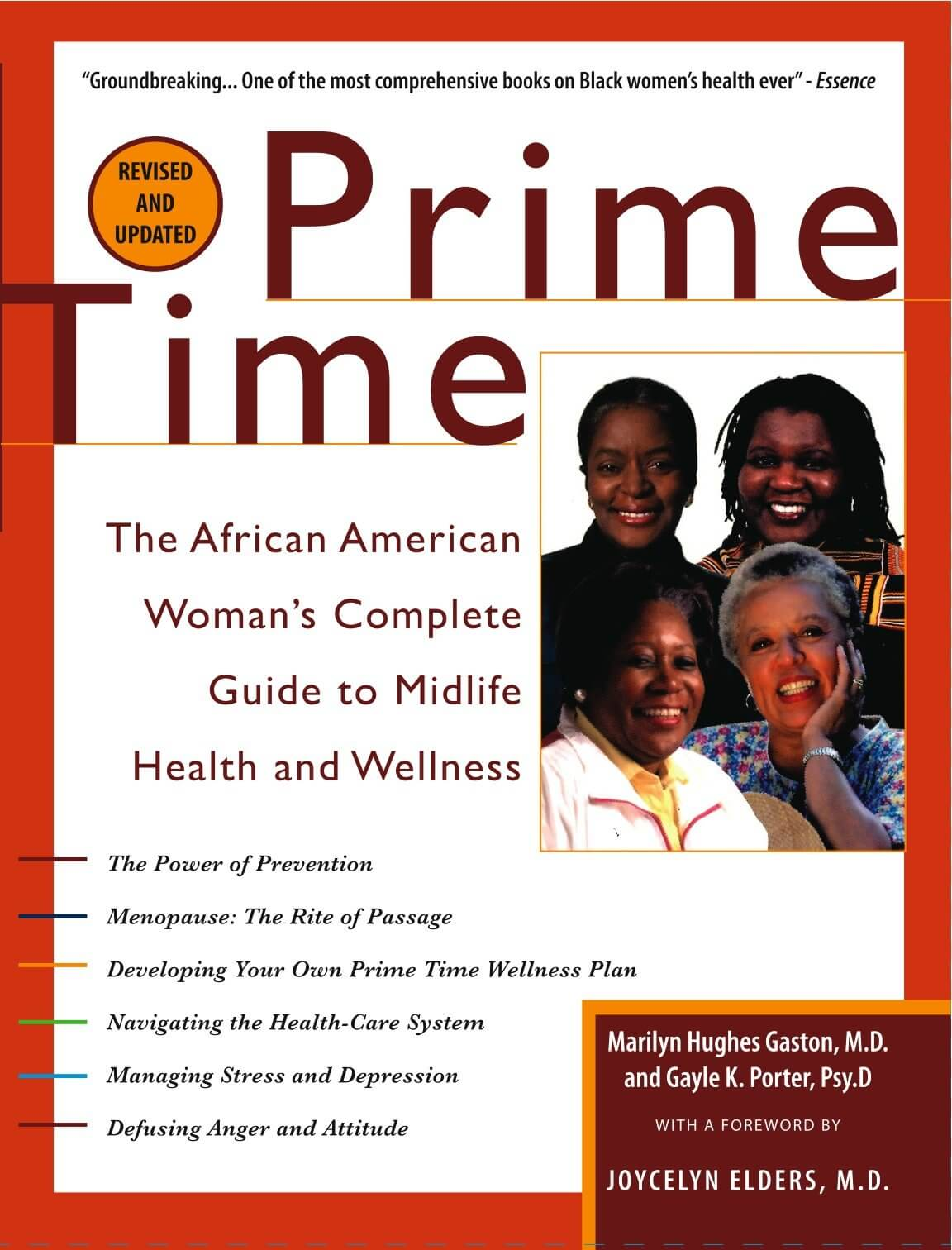 Click for more detail about Prime Time: The African American Woman's Guide to Midlife Health and Wellness by Marilyn Hughes Gaston and Gayle K. Porter