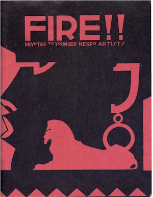 Click for a larger image of Fire!! A Quarterly Devoted To The Younger Negro Artists