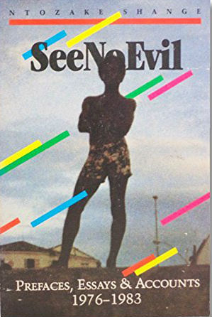 Click for a larger image of See No Evil: Prefaces, Essays and Accounts, 1976-1983