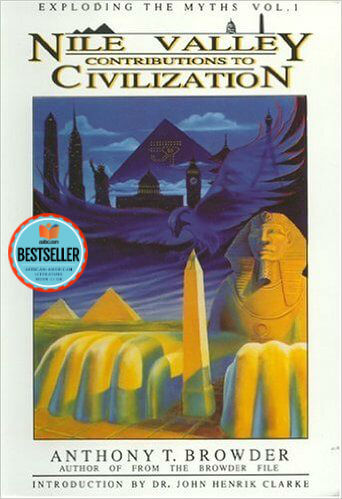 Book cover of Nile Valley Contributions to Civilization by Anthony Browder