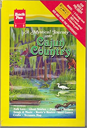 Book Cover A Mystical Journey Into Cajun Country by Janus Adams
