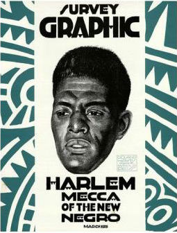 Click for more detail about Survey Graphic the March 1925 Number Harlem Mecca of the New Negro by Alain Locke