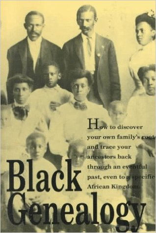 Book Cover Black Genealogy by Charles L. Blockson