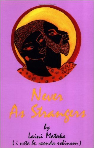 Book Cover Never As Strangers by Laini Mataka