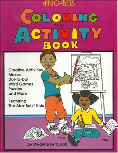 Click for more detail about Afro-Bets Coloring and Activity Book by Dwayne Ferguson