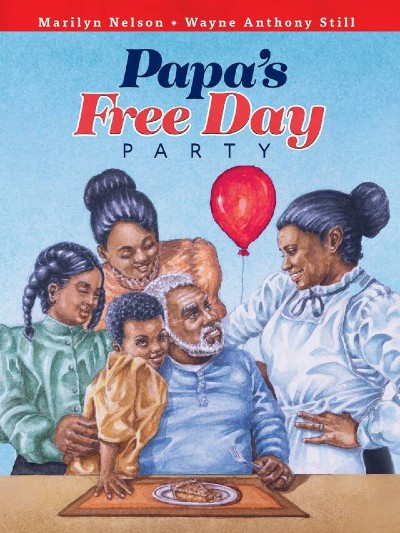 Book cover of Papa's Free Day Party by Marilyn Nelson