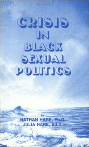 Book Cover Crisis In Black Sexual Politics by Nathan and Julia Hare