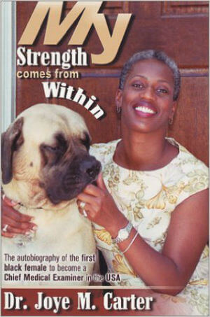 Book Cover My Strength Comes from Within by Joye M. Carter