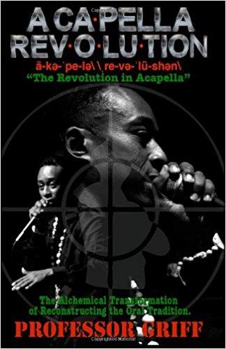 Book Cover Acapella Revolution by Professor Griff
