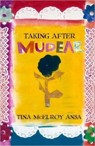 Book Cover Taking After Mudear by Tina McElroy Ansa