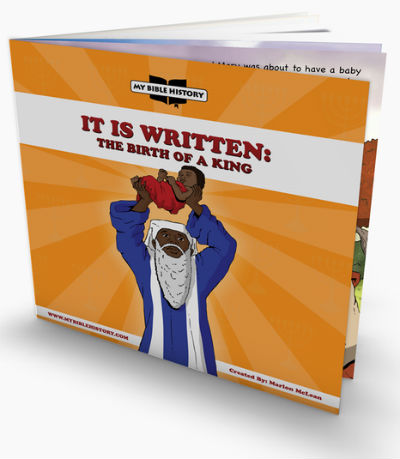 Book Cover It is Written: The Birth of A King by My Bible Culture