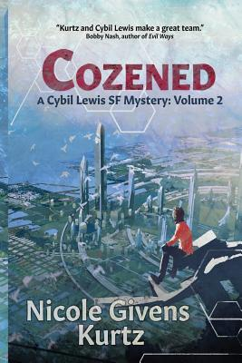Book Cover Cozened: A Cybil Lewis Novel by Nicole Givens Kurtz
